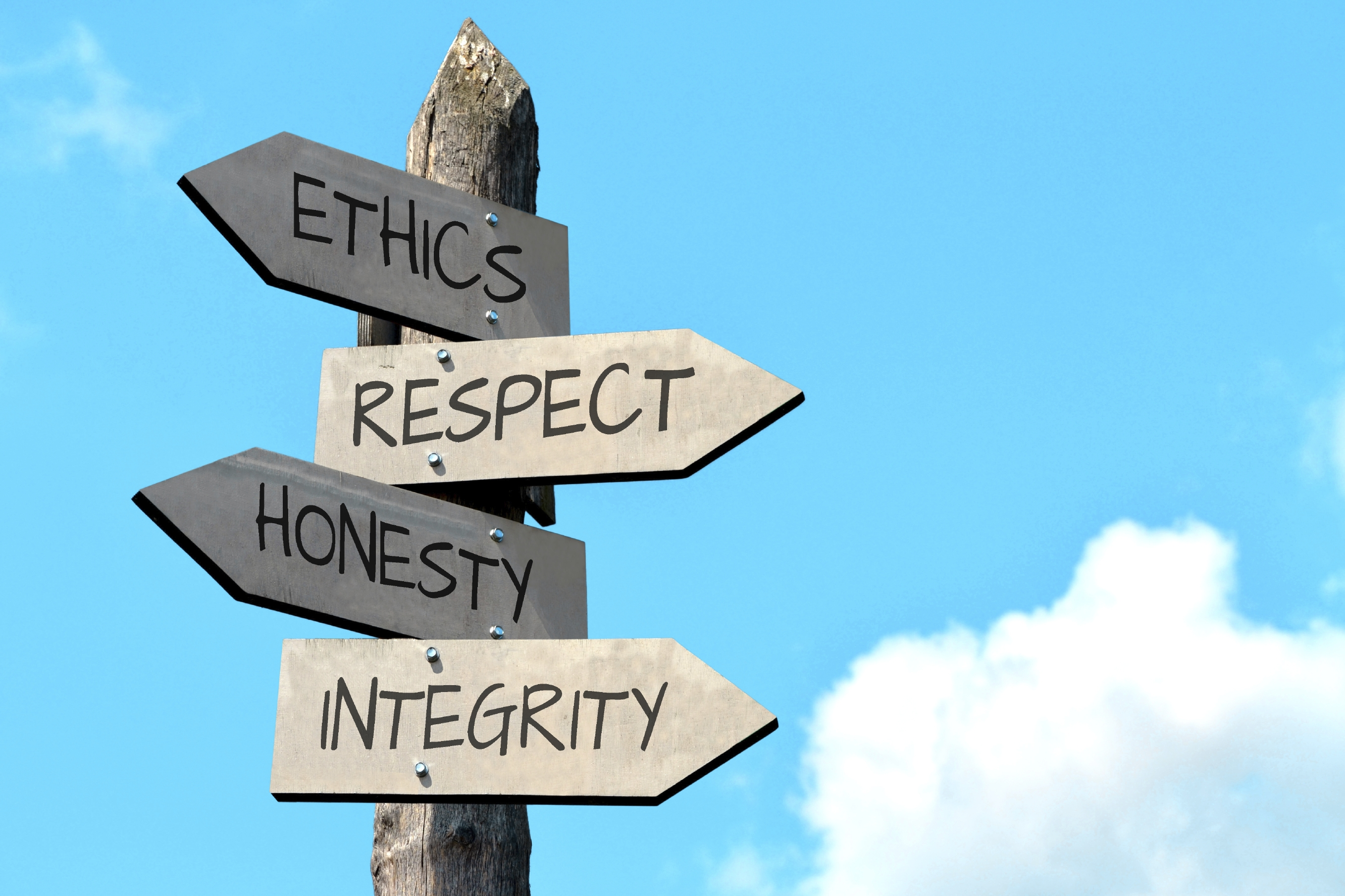 business ethcis The definition of business ethics  since the early 1960's when business ethics came in vogue, the topic of corporate responsibility, ethical behavior.